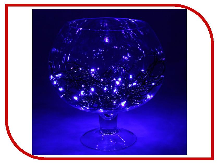 Гирлянда Luazon Метраж LED-100-24В 10m Blue 1586009 гирлянда luazon конский хвост капля росы 2 5m led 750 12v multicolor 1080622