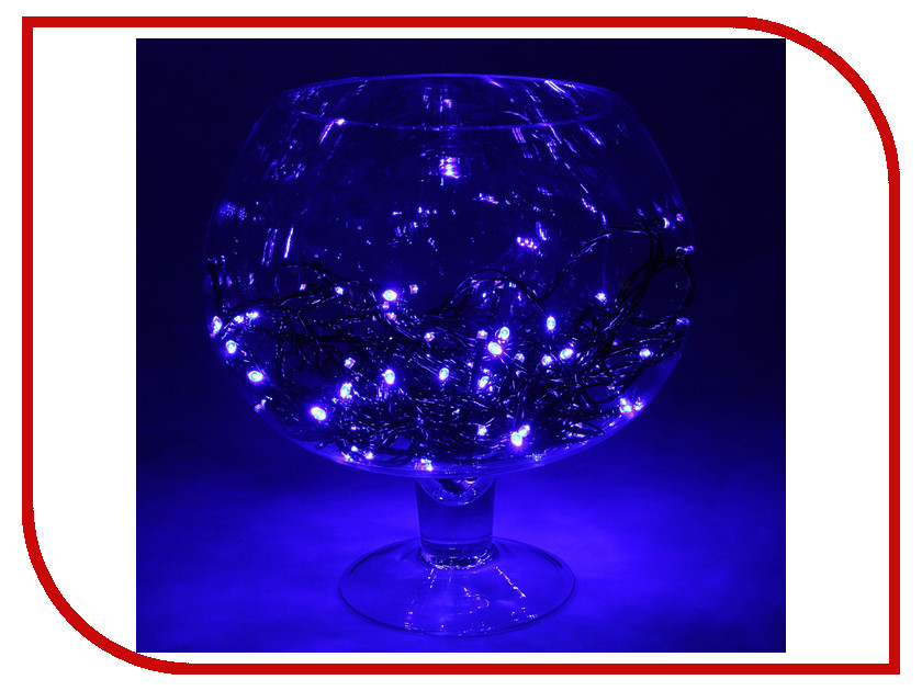 Гирлянда Luazon Метраж LED-100-24В 10m Blue 1586009 гирлянда luazon спайдер led 600 24в 20m multicolor 1586037