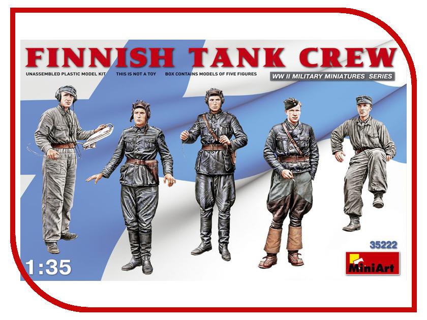 Сборная модель MiniArt Финский танковый экипаж 35222М экипаж