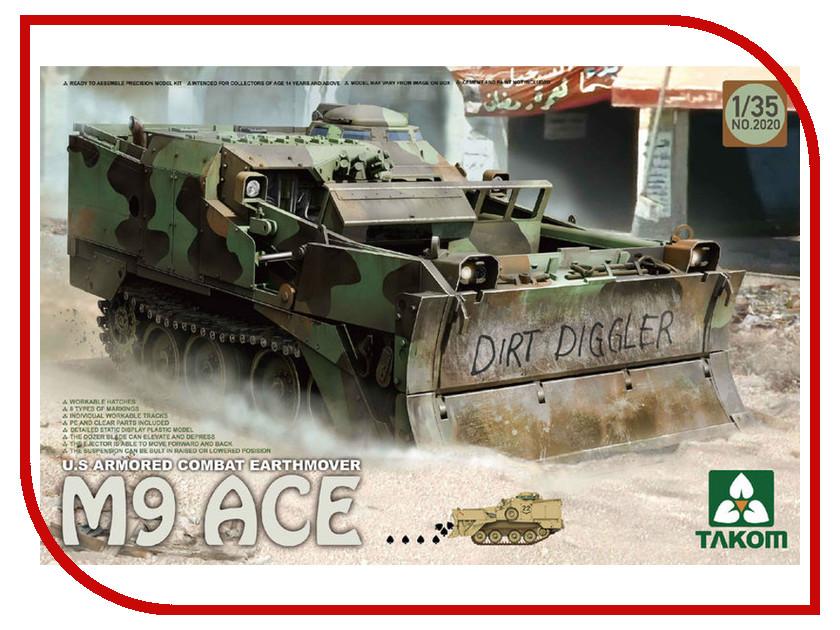 Сборная модель Takom Американский бронированный бульдозер M9 ACE 2020
