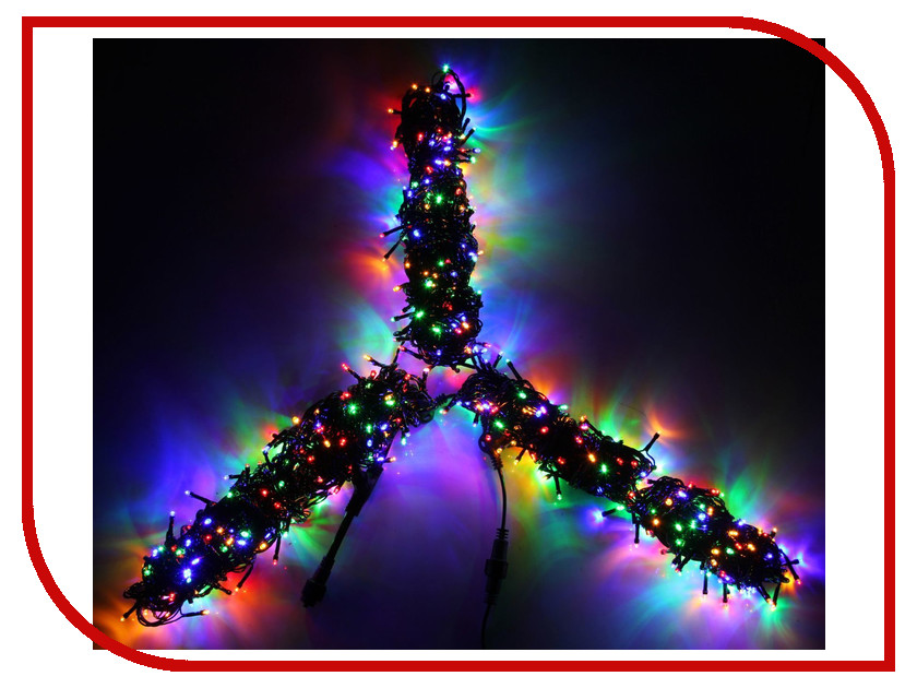 Гирлянда Luazon Спайдер LED-600-24В 20m Multicolor 1586037 гирлянда luazon метраж 5 2m led 50 220v multicolor rgb 1080348