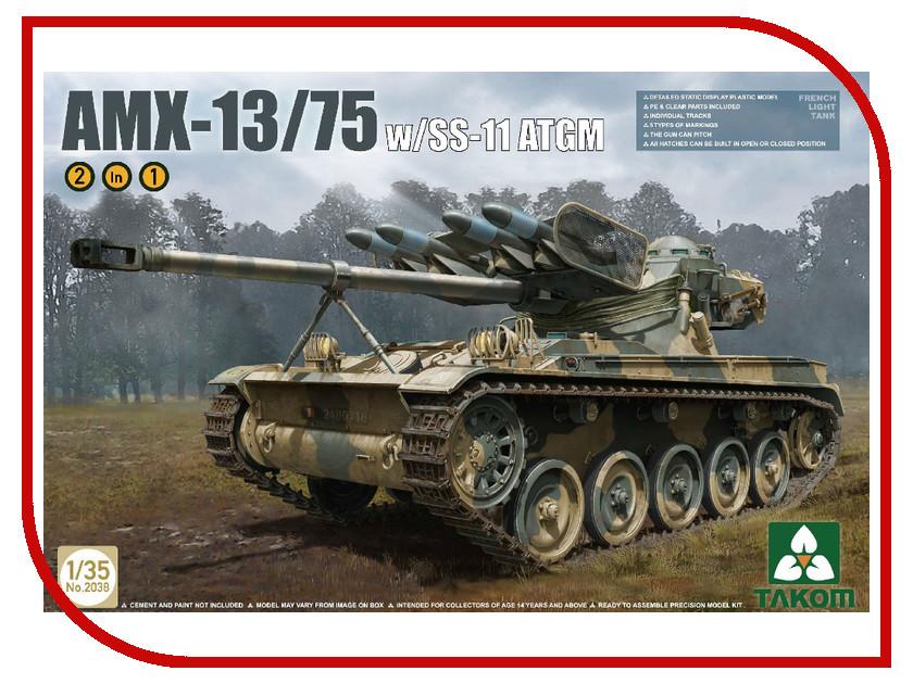 Сборная модель Takom Французский легкий танк с ракетами SS-11 2 in 1 2038 инструменты для сварки bao workers in taiwan ss 571h ss 571h 300w