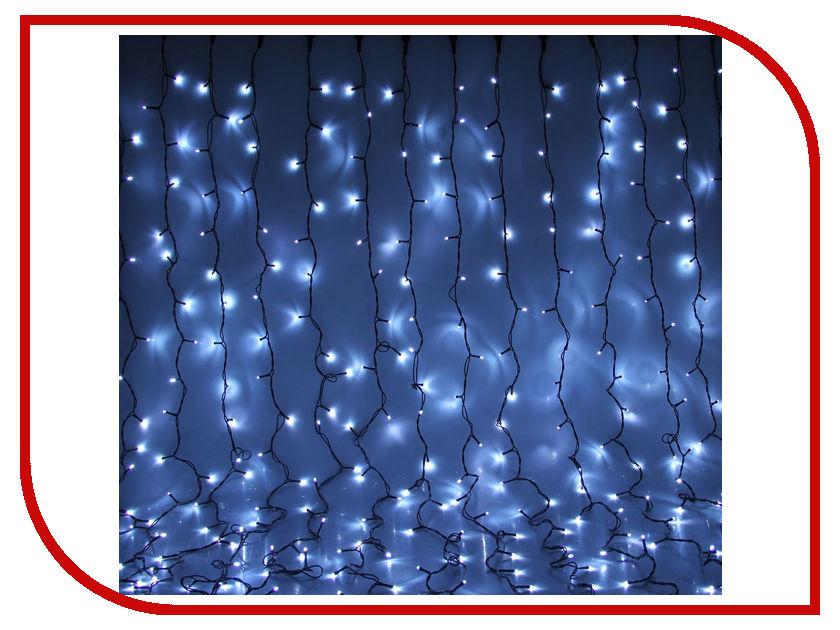 Гирлянда Luazon Занавес LED-1800-220V 2m-9m White 1080313 гирлянда luazon метраж цветы 5m led 20 220v 185506
