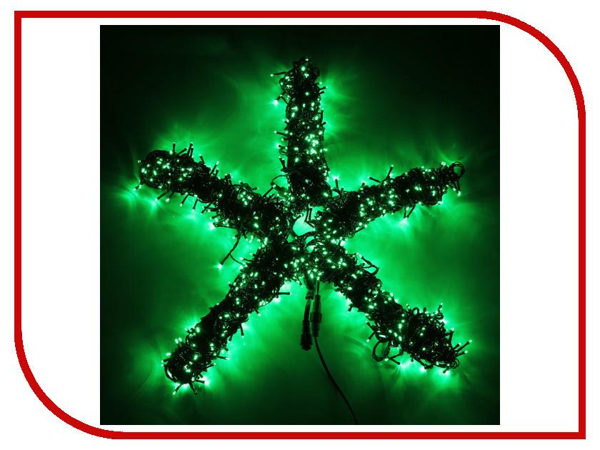 Гирлянда Luazon Спайдер LED-1000-24В 20m Green 1586063 гирлянда luazon дождь 2m 6m multicolor 671678