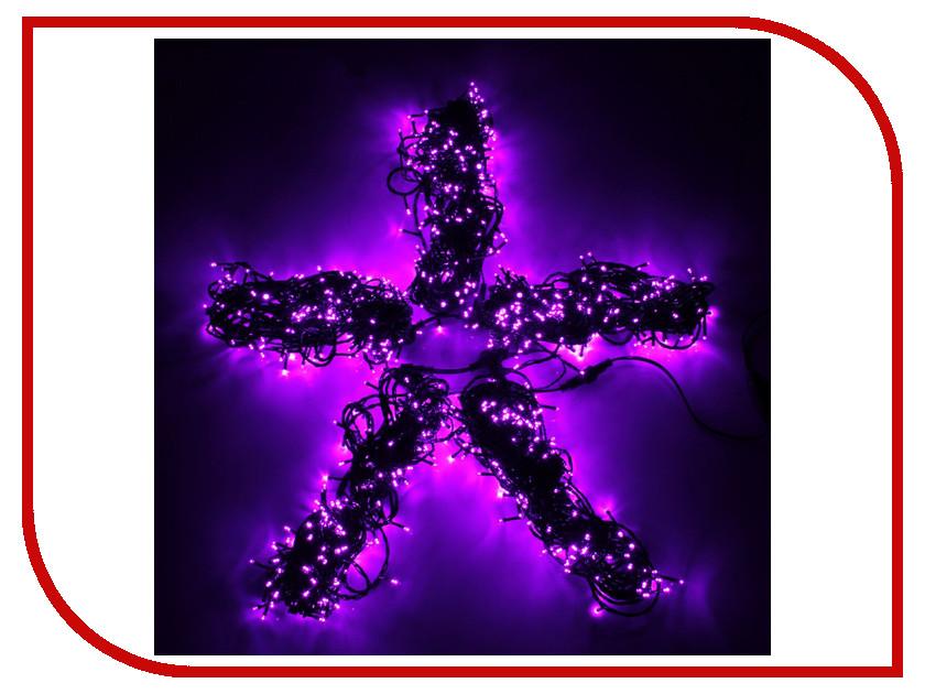 Гирлянда Luazon Спайдер LED-1000-24В 20m Purple 1586066 гирлянда luazon дождь 2m 6m multicolor 671678