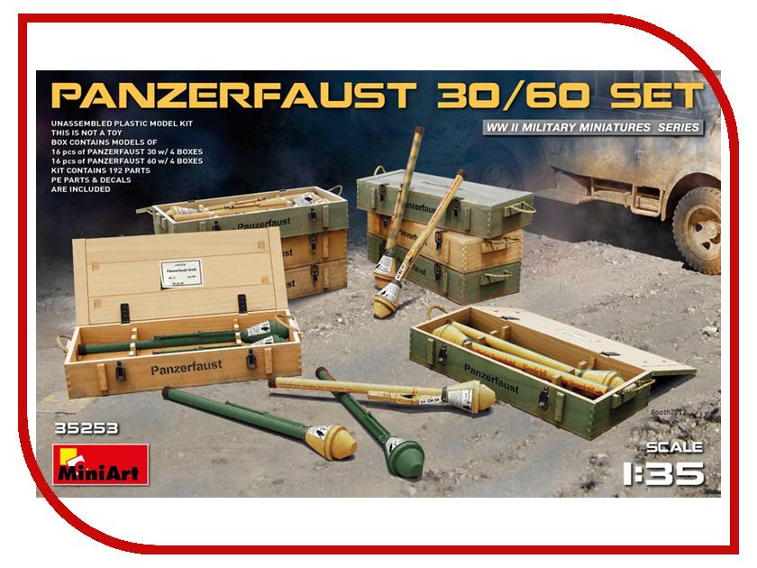 Сборная модель MiniArt Набор патронов Panzerfaust 30/60 35253М сборная модель miniart уличные аксессуары 35530м