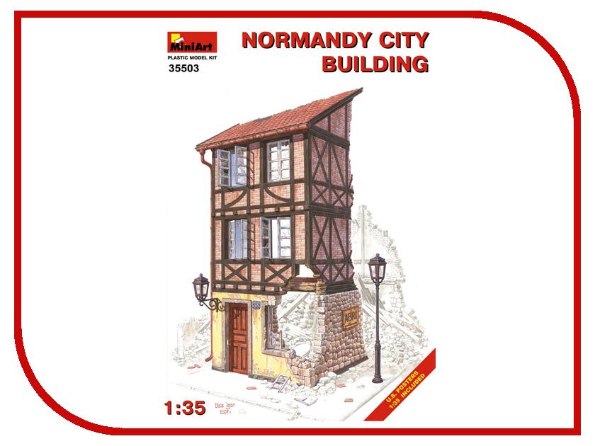 Фото Сборная модель MiniArt Нормандское городское здание 35503М