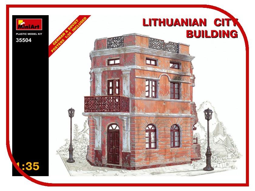Фото Сборная модель MiniArt Литовское городское здание MiniArt Литовское городское здание 35504М