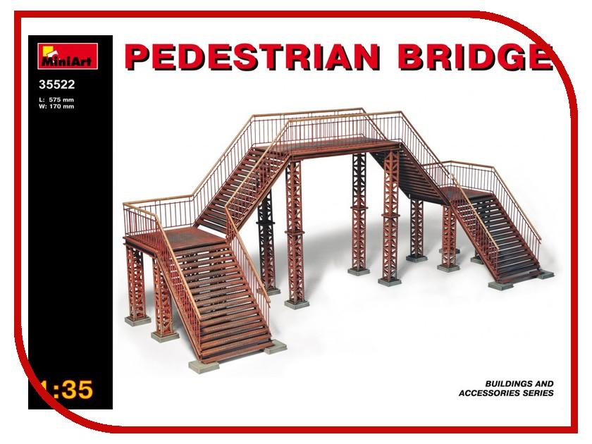 Сборная модель MiniArt Пешеходный мост 35522М