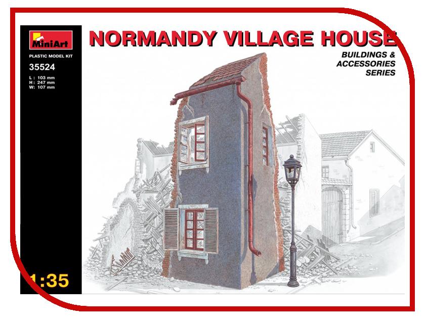Сборная модель MiniArt Нормандский деревенский дом 35524М хочу деревенский дом около свирска иркутской области