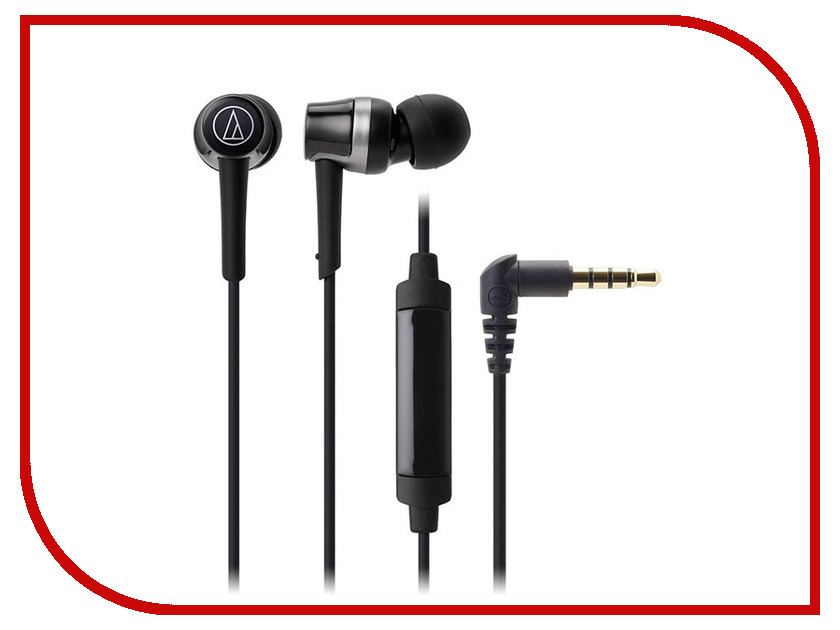 Audio-Technica ATH-CKR30ISBK audio technica ath ls50is 15119537 внутриканальные наушники red