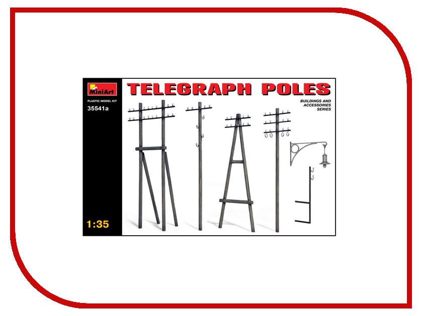 Сборная модель MiniArt Телеграфные столбы 35541М