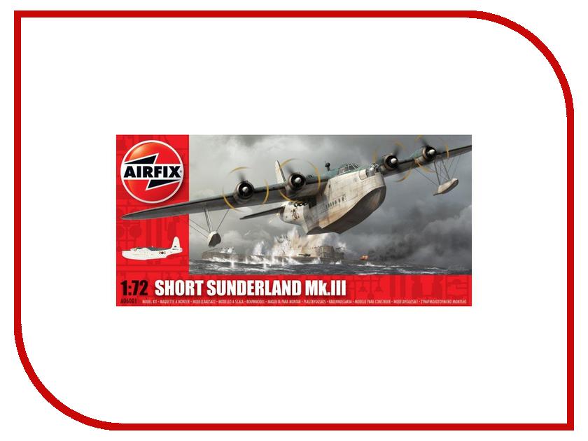 Сборная модель AIRFIX Short Sunderland A06001 сборная модель airfix британские квадроциклы с экипажем a04701