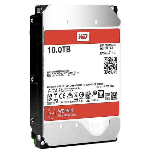 Жесткий диск Western Digital WD 10Tb Red WD100EFAX