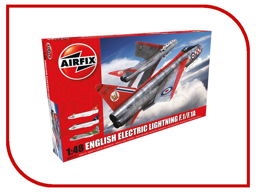 Сборная модель AIRFIX English Electric Lightning F1/F1A/F2/F3 A09179 mf2300 f2