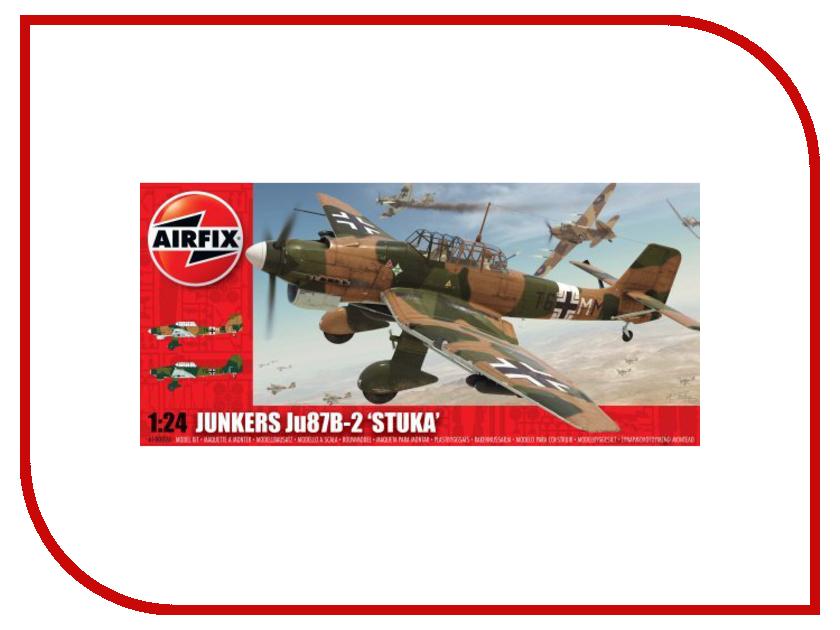 Сборная модель AIRFIX JU87B Stuka A18002 сборная модель airfix me109e j6001