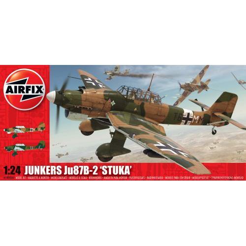 цены Сборная модель AIRFIX JU87B Stuka A18002