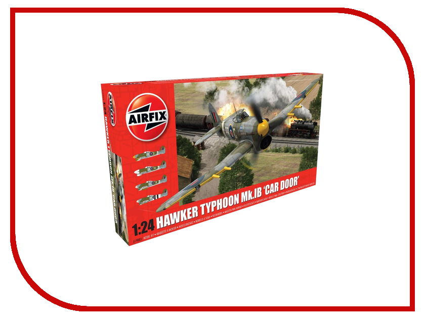 Фото Сборная модель AIRFIX Hawker Typhoon MklB A19003