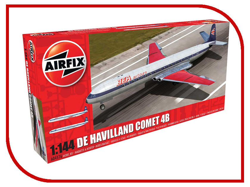 Фото Сборная модель AIRFIX De Havilland Comet 4B A04176