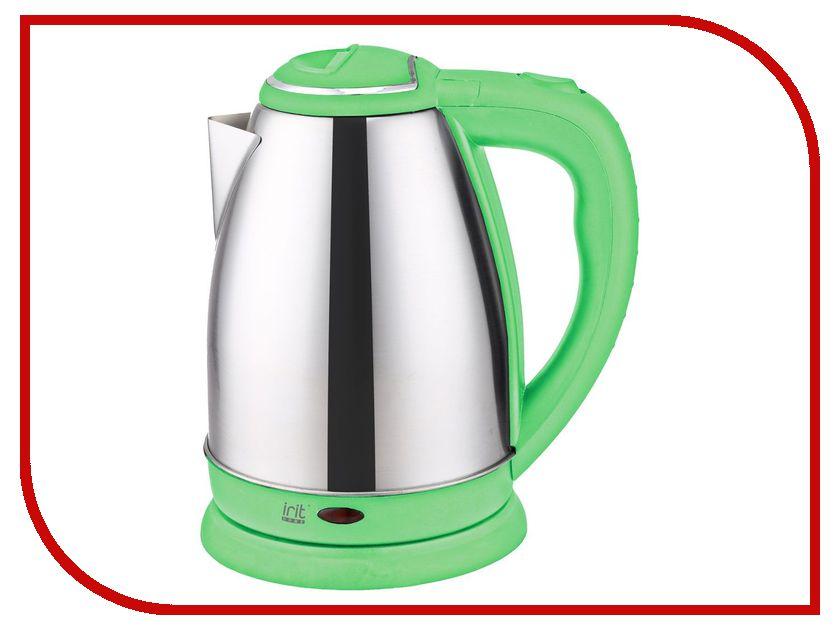 Чайник Irit IR-1337 Green чайник irit ir 1314 1500 вт зелёный 1 8 л нержавеющая сталь