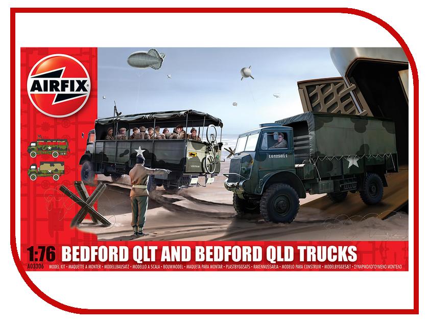 Сборная модель AIRFIX Bedford QLT / QLD A03306 сборная модель airfix me109e j6001