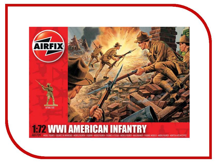 Сборная модель AIRFIX Американская пехота A01729
