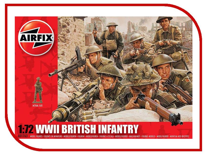 Сборная модель AIRFIX Британская пехота WWII A01763