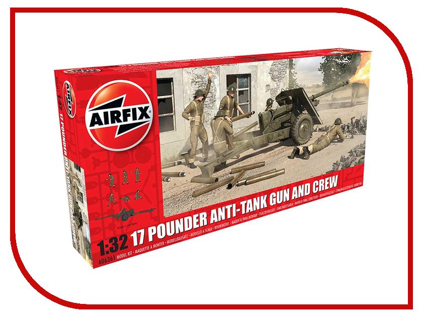 Сборная модель AIRFIX 17 Pdr Anti-Tank Gun A06361 qihui конструктор anti aircraft tank
