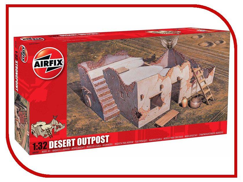 Сборная модель AIRFIX Пост в пустыне A06381 сборная модель airfix британские квадроциклы с экипажем a04701