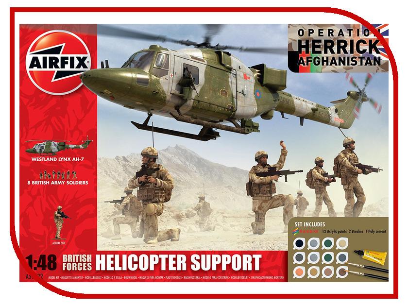 Сборная модель AIRFIX Lynx A50122 фильтр воздушный lynx la113
