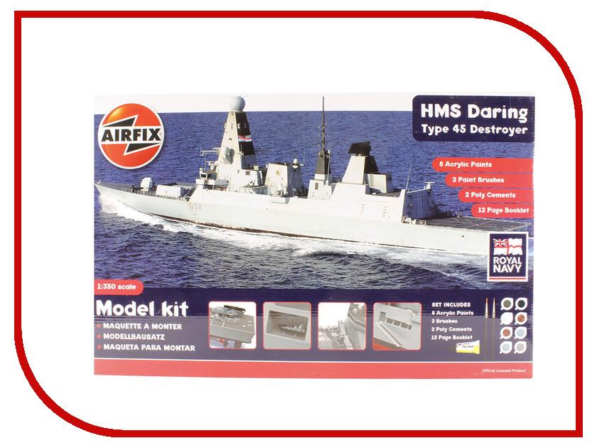 Сборная модель AIRFIX HMS Daring: Type 45 Destroyer A50132 сборная модель airfix британские квадроциклы с экипажем a04701