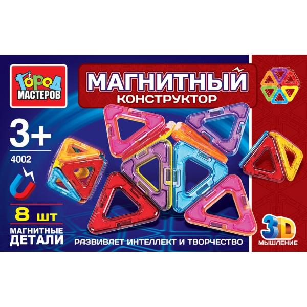 Конструктор Город Мастеров 8 треугольников XB-4002-R цены