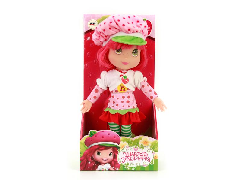 Игрушка Мульти-пульти Шарлотта Земляничка STRAWBERRY CAKE01 кукла шарлотта земляничка шарлотта земляничка