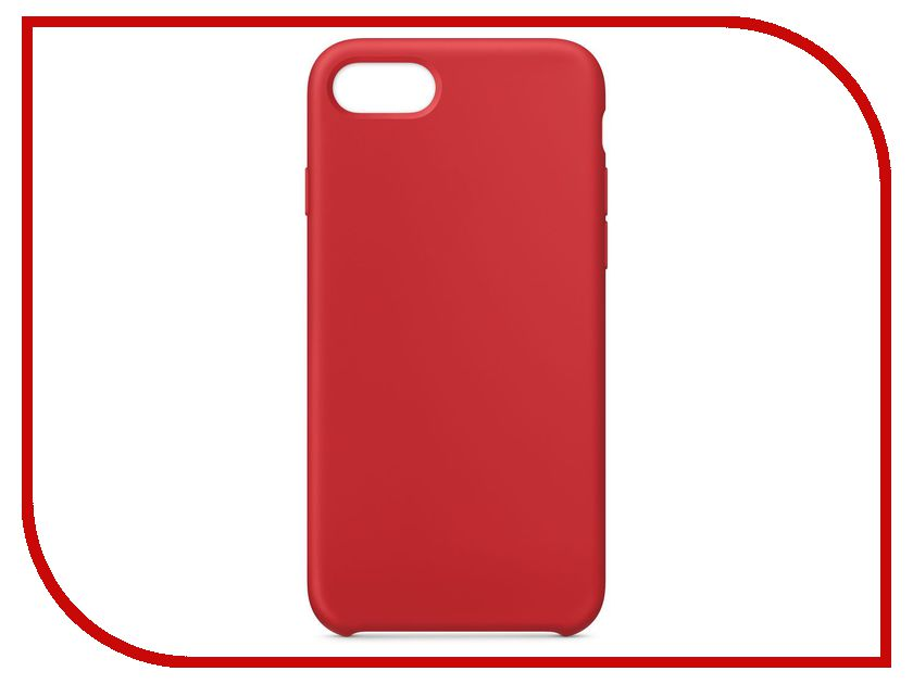 Аксессуар Чехол APPLE iPhone 8 / 7 Silicone Case Product Red MQGP2ZM/A аксессуар чехол mamba case zephyr для apple iphone 7 8