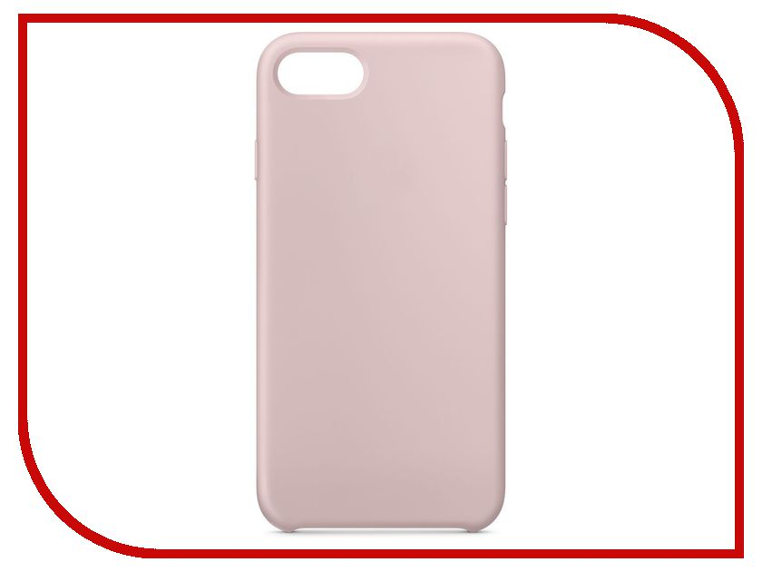 Аксессуар Чехол APPLE iPhone 8 / 7 Silicone Case Pink Sand MQGQ2ZM/A чехол для apple iphone 8 7 plus silicone case pink sand