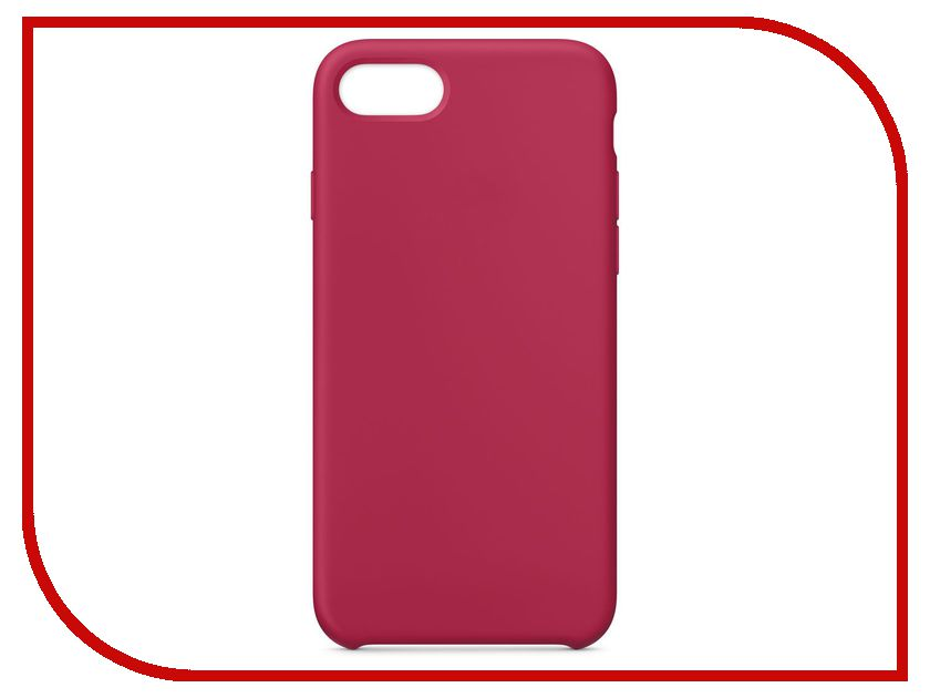 Аксессуар Чехол APPLE iPhone 8 / 7 Silicone Case Rose Red MQGT2ZM/A