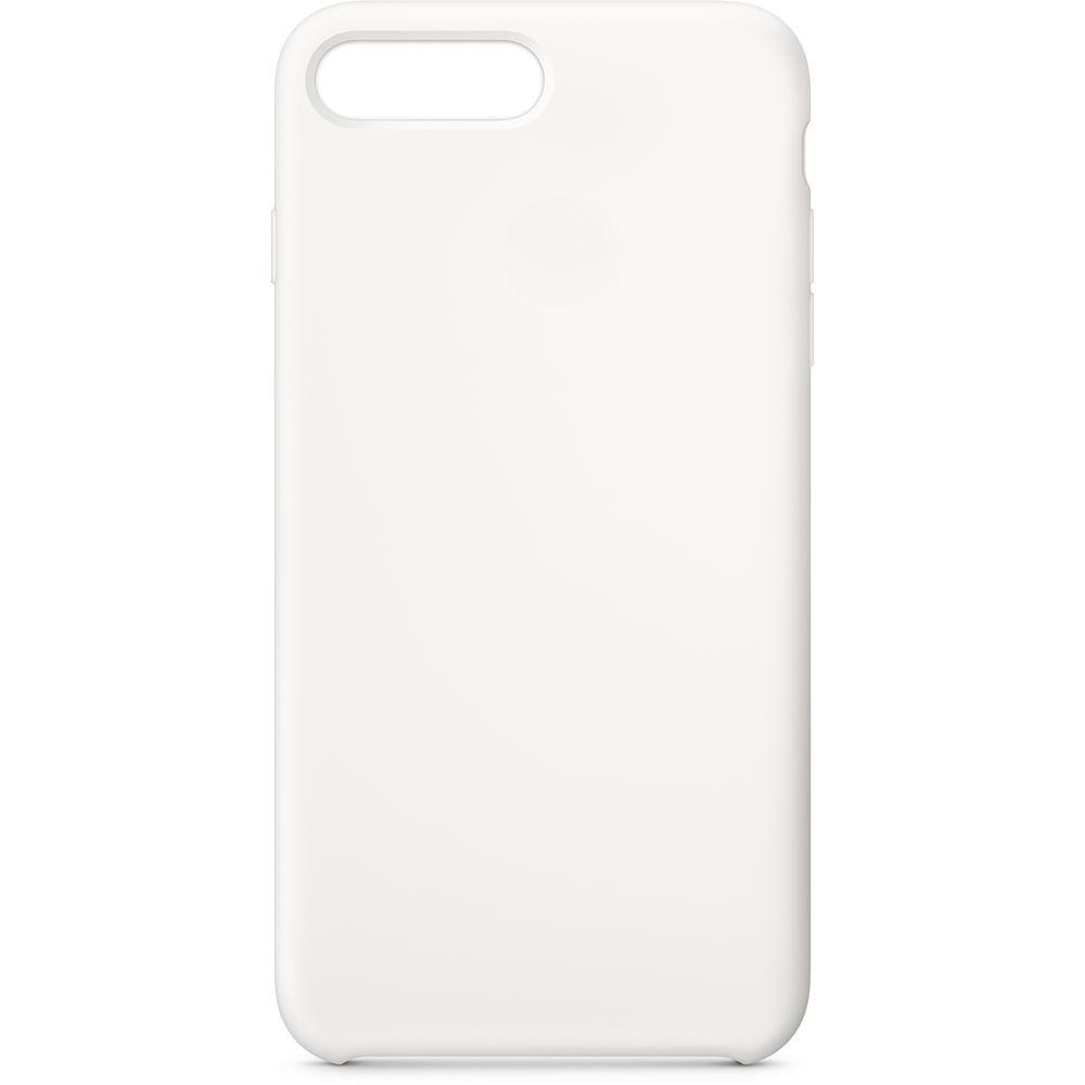 Аксессуар Чехол APPLE iPhone 8 Plus / 7 Plus Silicone Case White MQGX2ZM/A цена