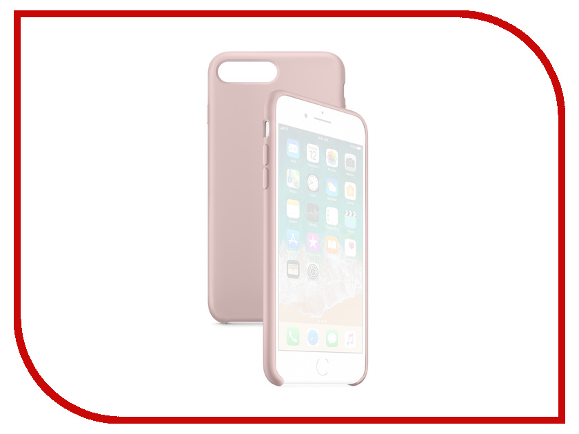 Аксессуар Чехол APPLE iPhone 8 Plus / 7 Plus Silicone Case Pink Sand MQH22ZM/A чехол для apple iphone 8 7 plus silicone case pink sand