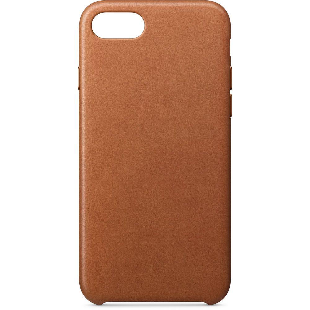 Аксессуар Чехол APPLE iPhone 8 / 7 Leather Case Saddle Brown MQH72ZM/A часы nixon genesis leather white saddle