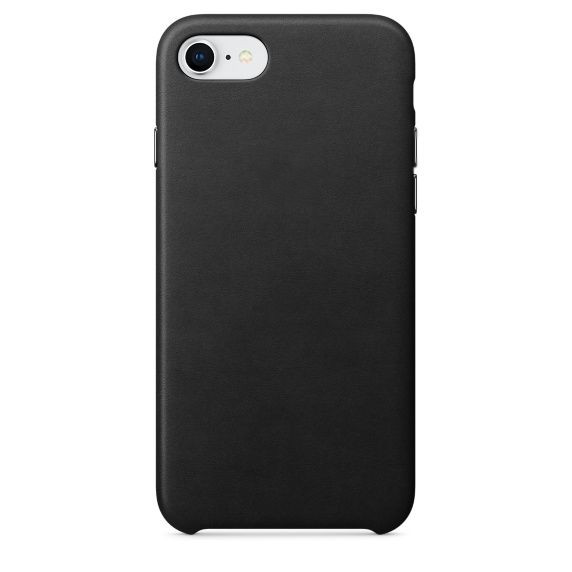 Чехол для APPLE iPhone 8 / 7 Leather Case Black MQH92ZM/A