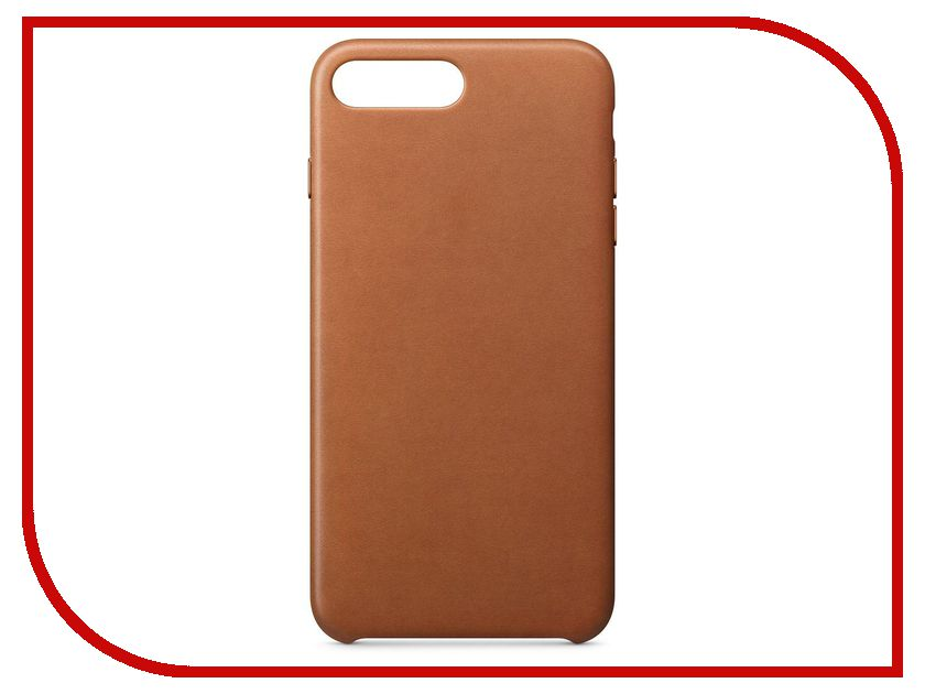 Аксессуар Чехол APPLE iPhone 8 Plus / 7 Plus Leather Case Saddle Brown MQHK2ZM/A