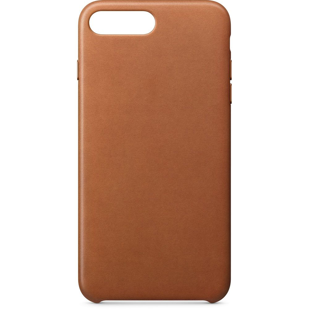 Аксессуар Чехол APPLE iPhone 8 Plus / 7 Plus Leather Case Saddle Brown MQHK2ZM/A цена