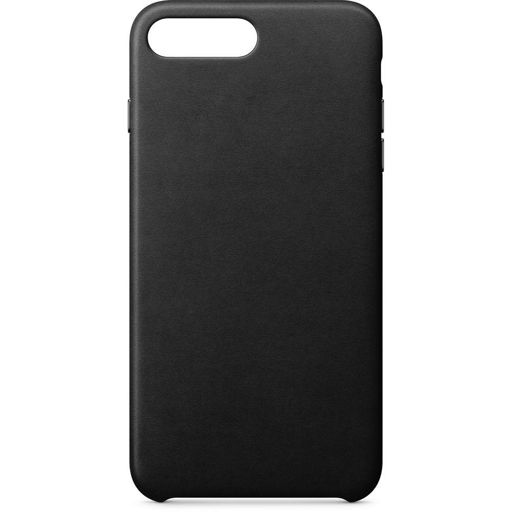 Аксессуар Чехол APPLE iPhone 8 Plus / 7 Plus Leather Case Black MQHM2ZM/A цена