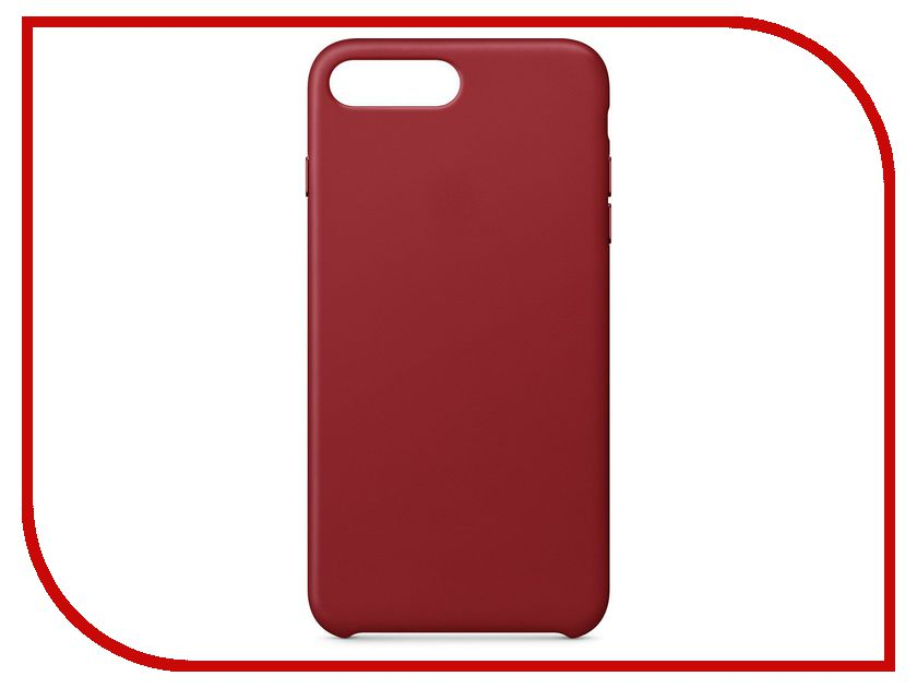 Аксессуар Чехол APPLE iPhone 8 Plus / 7 Plus Leather Case Product Red MQHN2ZM/A