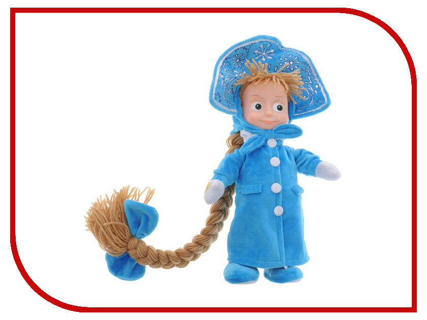 Игрушка Мульти-пульти Маша-Снегурочка V91871/30 россия ёлочная игрушка снегурочка морозные узоры