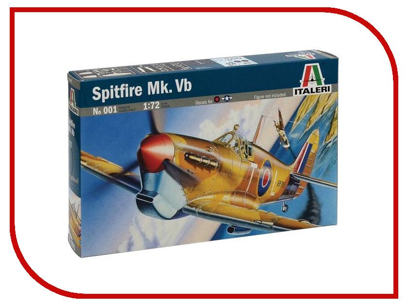 Сборная модель Italeri Самолет Spitfire Mk. VB 0001 цены онлайн