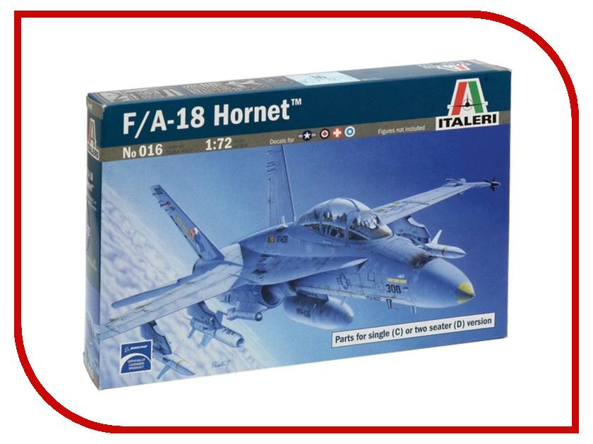 Сборная модель Italeri Самолет F/A 18 Wild Weasel C/D 0016