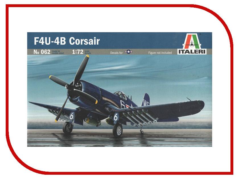 Сборная модель Italeri Самолет Corsair F-4U/4B 0062