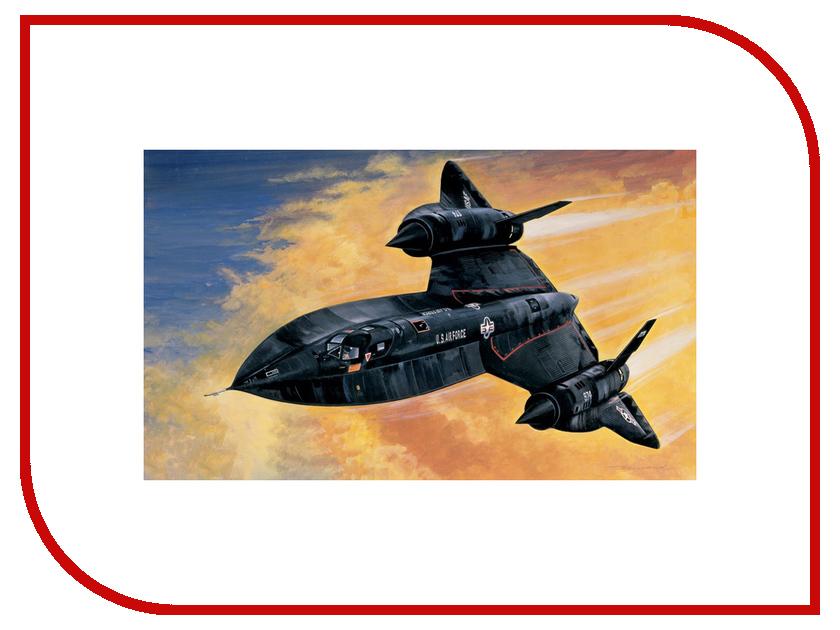 Сборная модель Italeri Самолет SR-71 Black bird 0145 sr сумка для девочки 16007 black разноцветный sr