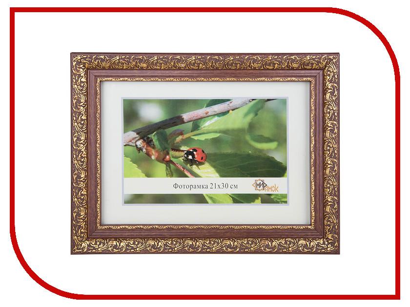 Аксессуар МирРамок №420 21x30cm Brown-Gold 244212